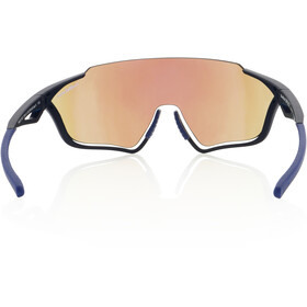 Red Bull SPECT Pace Sunglasses, matte blue/smoke-blue